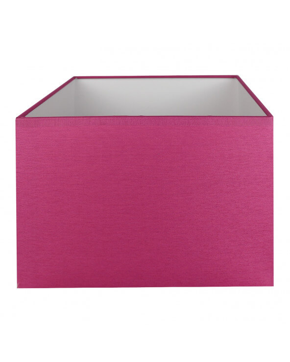 Abat-jour rectangle Fuschia