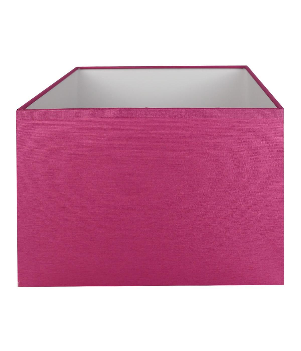 Abat-jour rectangle Fuschia