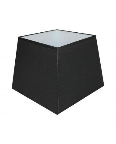 Abat-jour carre pyramidal Noir