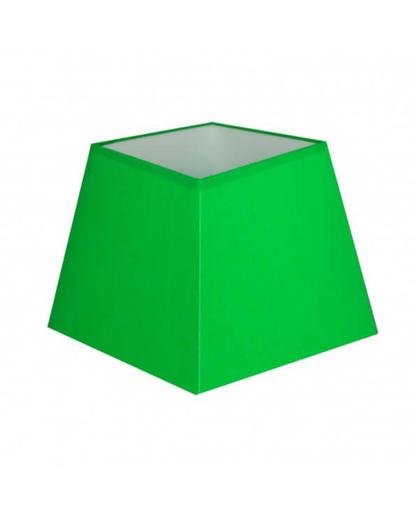 Abat-jour carre pyramidal Vert electrique