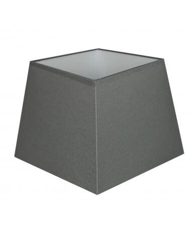 Abat-jour carre pyramidal Gris moyen