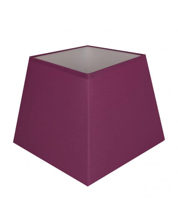 Abat-jour carre pyramidal Violet
