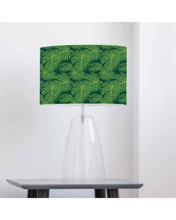 abat-jour imprimé palmio