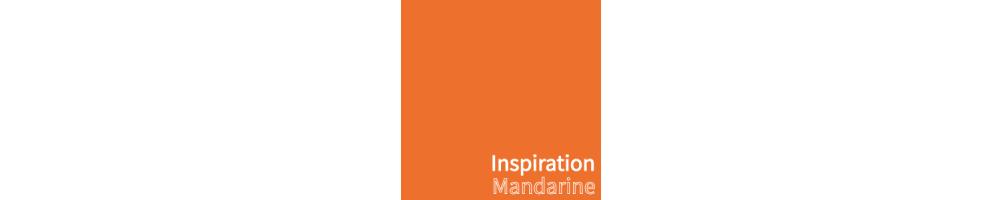Abat-jour tendance mandarine