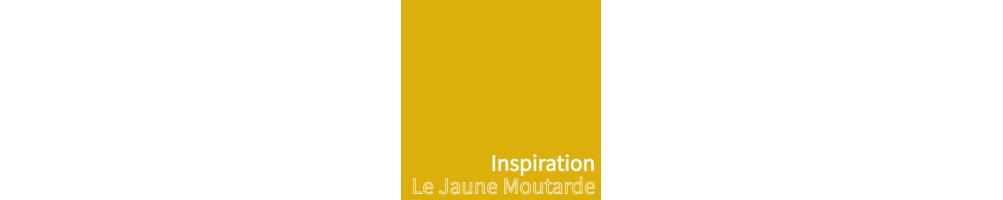 Abat-jour tendance jaune moutarde