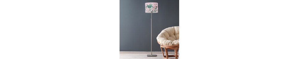 Les lampadaires couleurs tendances ⎮ Abat-jour tendance