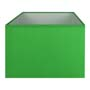 Abat-jour rectangle vert elec