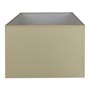 Abat-jour rectangle Beige