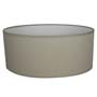 Abat-jour Oval Taupe Clair